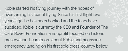 Short excerpt of Kobie's story.