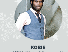 Photo of December's Pilot of the Month, Kobie